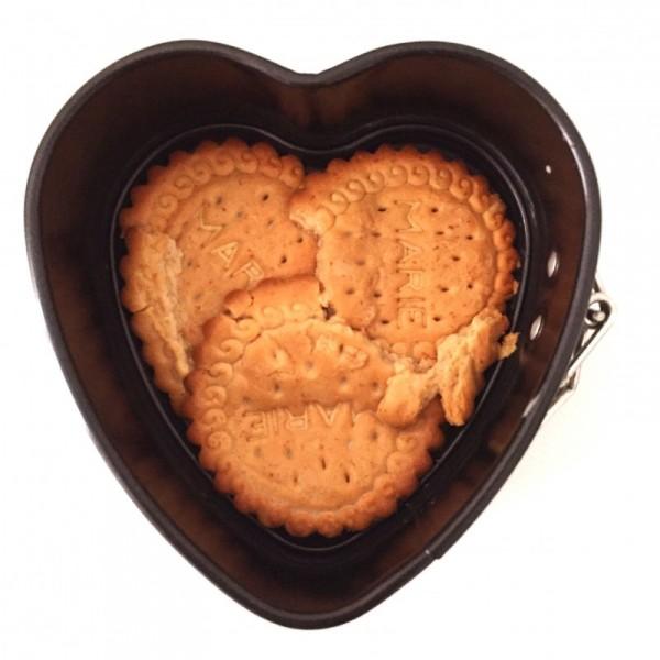 Tarta de galleta y chocolate sin azucar - 3