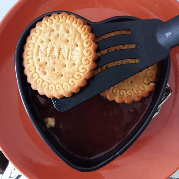 Tarta de galleta y chocolate sin azucar - 5