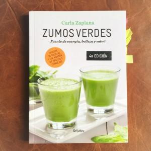 Zumos verdes Carla Zaplana