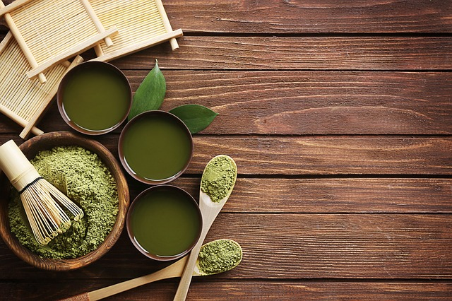 Propiedades antioxidantes del te verde matcha