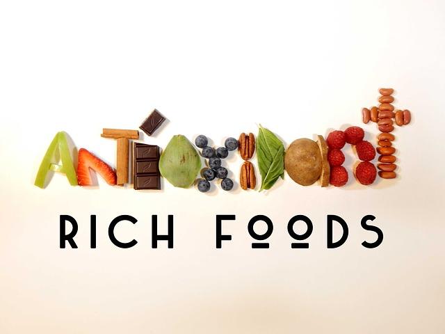 Alimentos ricos en antioxidantes lemongrass path