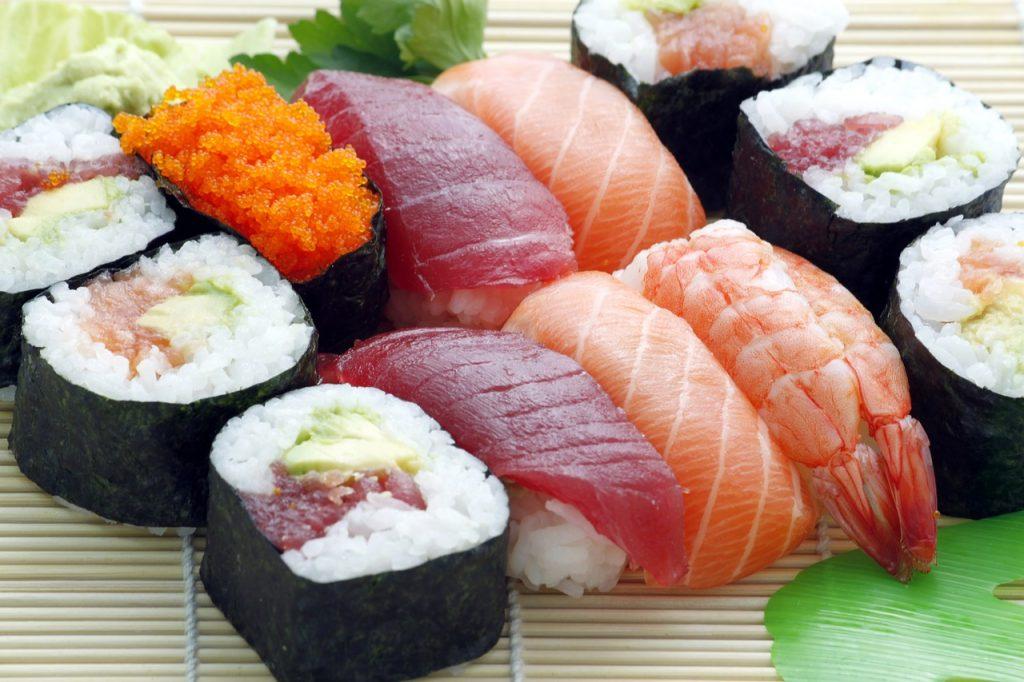 sushi intoxicacion anisakis